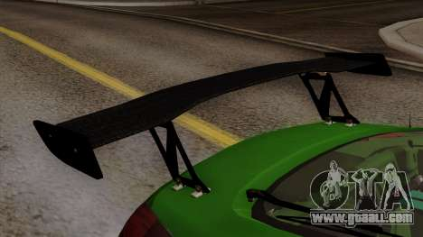 Nissan 350Z for GTA San Andreas back view