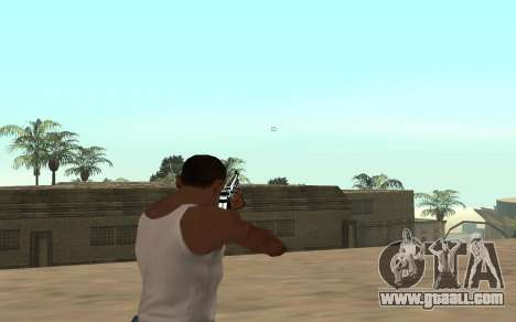 Rifle with a tiger cub for GTA San Andreas third screenshot