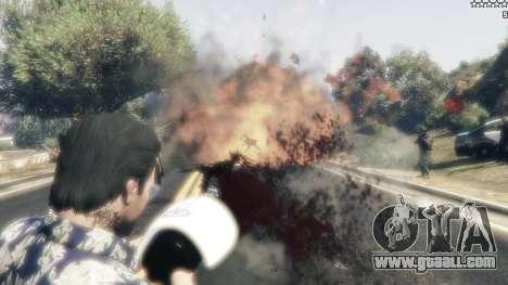 GTA 5 Cinematic Explosion FX 1.12a fifth screenshot