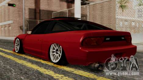 Nissan Silvia Odyvia for GTA San Andreas left view