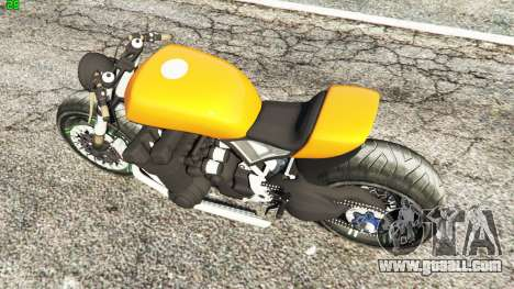 GTA 5 Honda CB 1800 Cafe Racer Paint back view