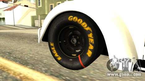 Volkswagen Beetle Herbie Fully Loaded for GTA San Andreas back left view