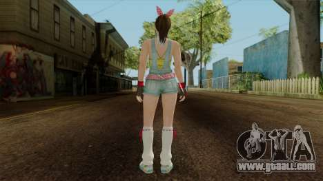 Dead Or Alive 5 Hitomi Overalls for GTA San Andreas third screenshot