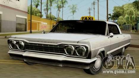 Taxi-Savanna for GTA San Andreas