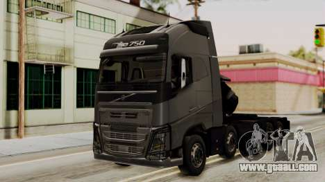 Volvo FH Euro 6 10x4 Exclusive High Cab for GTA San Andreas