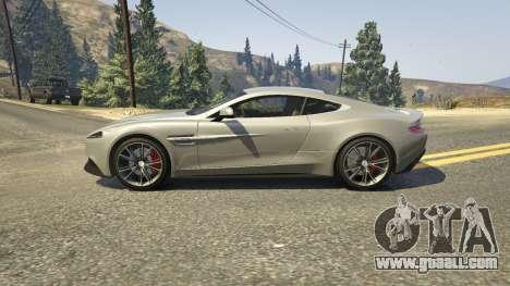 Aston Martin Vanquish V12 2015 for GTA 5