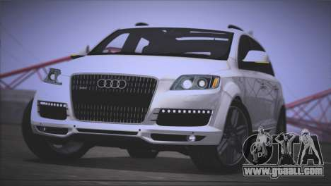 Audi Q7 2008 for GTA San Andreas back left view