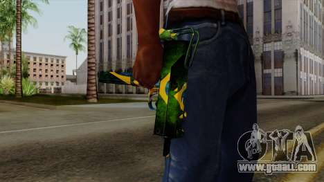 Brasileiro Micro Uzi v2 for GTA San Andreas third screenshot
