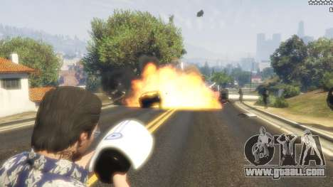 Cinematic Explosion FX 1.12a for GTA 5