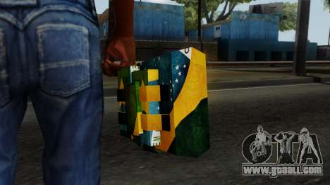 Brasileiro Satchel v2 for GTA San Andreas third screenshot