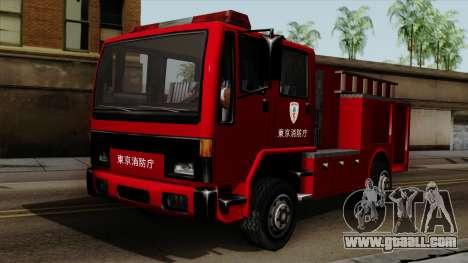 DFT-30 Tokyo Fire Department Pumper for GTA San Andreas