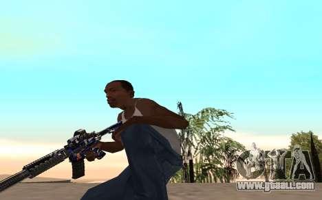 M4 c cub for GTA San Andreas forth screenshot