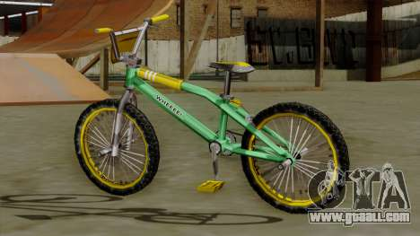 BMX Race from Bully for GTA San Andreas left view