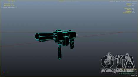 GTA 5 Saints Row 3 Cyber SMG Emissive v1.01