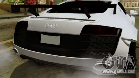 Audi R8 v1.0 Edition Liberty Walk for GTA San Andreas side view