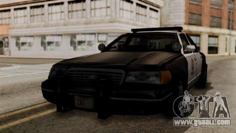Ford Crown Victoria LP v2 LSPD for GTA San Andreas