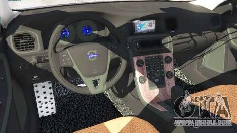 GTA 5 Volvo S60 [Beta] right side view