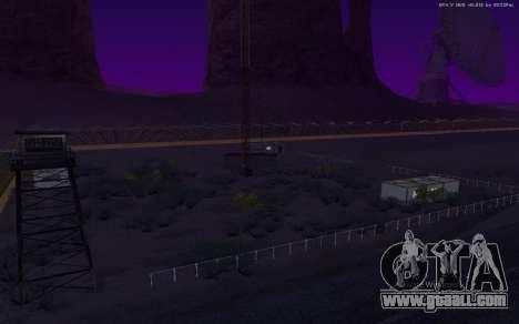 New Military Base v1.0 for GTA San Andreas eighth screenshot