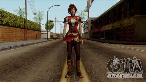 Shin Sangoku Musou 8 - Sun ShangXiang for GTA San Andreas second screenshot