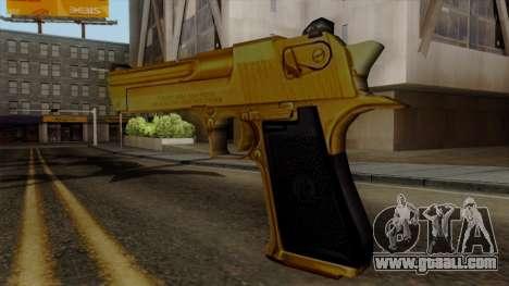 Golden Desert Eagle for GTA San Andreas second screenshot