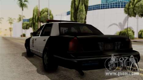 Ford Crown Victoria LP v2 LSPD for GTA San Andreas left view