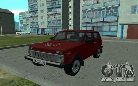 VAZ Niva 21213 for GTA San Andreas
