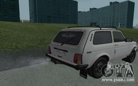 VAZ Niva 21213 for GTA San Andreas back left view