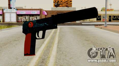 USP-S Caiman for GTA San Andreas