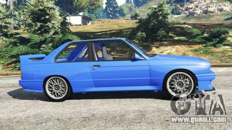 GTA 5 BMW M3 (E30) 1991 left side view