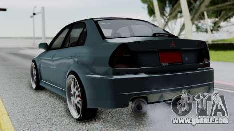 Mitsubishi Lancer Evolution Turbo for GTA San Andreas left view