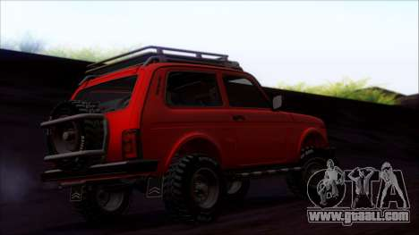 VAZ 2121 Niva Offroad for GTA San Andreas side view