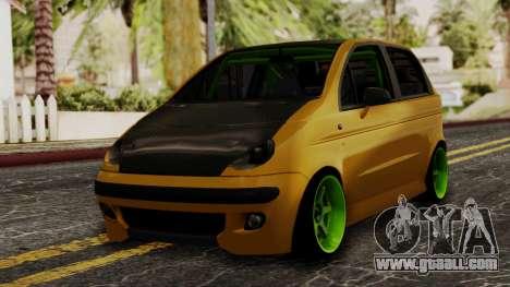 Daewoo Matiz Tuning for GTA San Andreas