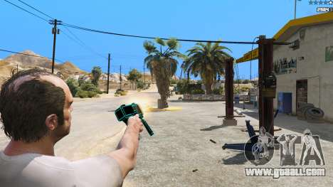 Saints Row 3 Cyber SMG Emissive v1.01 for GTA 5