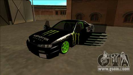 Nissan 200SX Drift Monster Energy Falken for GTA San Andreas engine