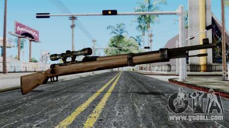 Kar98k Scope from Battlefield 1942 for GTA San Andreas