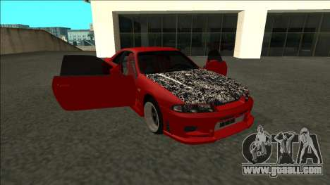 Nissan Skyline R33 Fairlady for GTA San Andreas side view