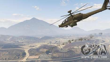 AH-64D Longbow Apache for GTA 5