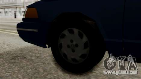 Ford Crown Victoria LP v2 Civil for GTA San Andreas back left view