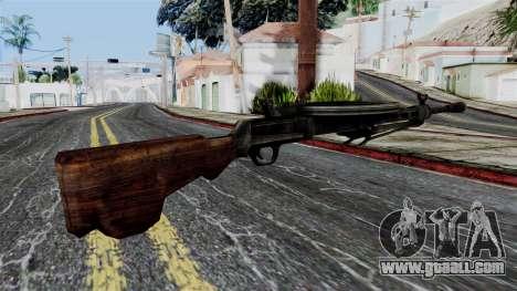 DP LMG from Battlefield 1942 for GTA San Andreas second screenshot