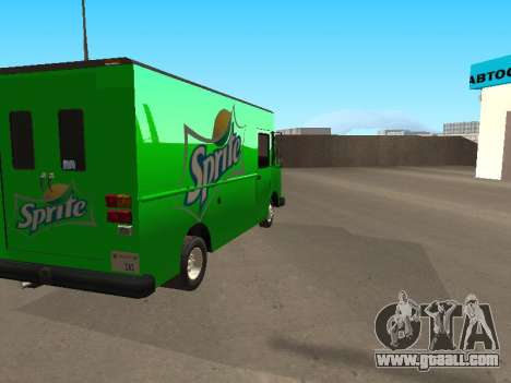 Boxville Sprite for GTA San Andreas left view