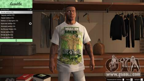 GTA 5 Franklin Hip Hop T-Shirts