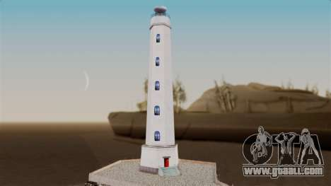 LS Santa Maria Lighthouse for GTA San Andreas