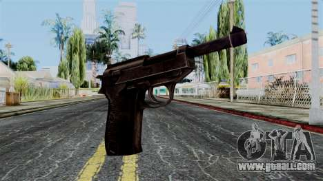 Walther P38 from Battlefield 1942 for GTA San Andreas