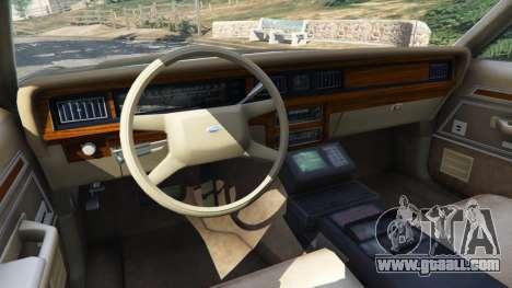 Ford LTD Crown Victoria 1987 LSPD for GTA 5