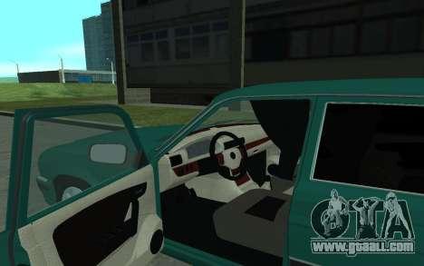 GAZ 31105 Volga for GTA San Andreas back view
