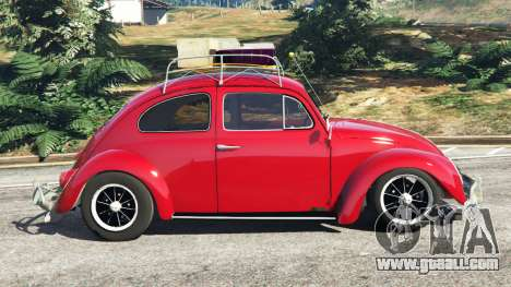 GTA 5 Volkswagen Beetle 1963 [Beta] left side view