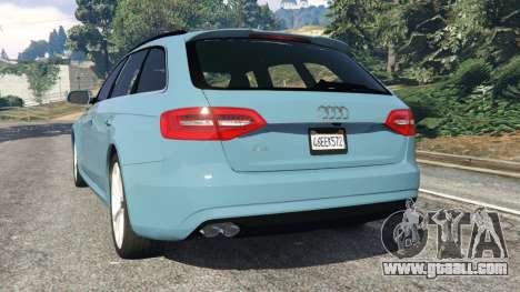 Audi A4 Avant 2013 for GTA 5