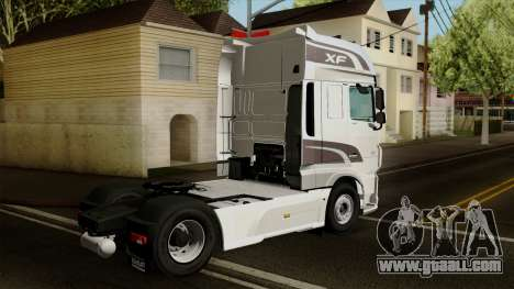 DAF XF Euro 6 SSC for GTA San Andreas left view