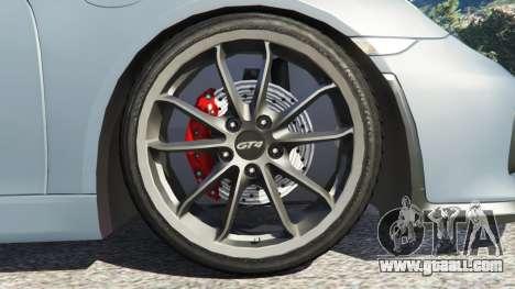 GTA 5 Porsche Cayman 2016 rear right side view