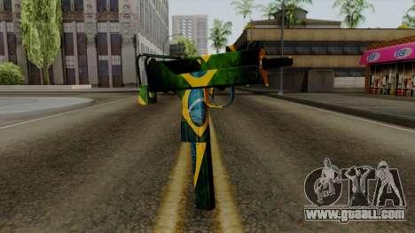 Brasileiro Micro Uzi v2 for GTA San Andreas